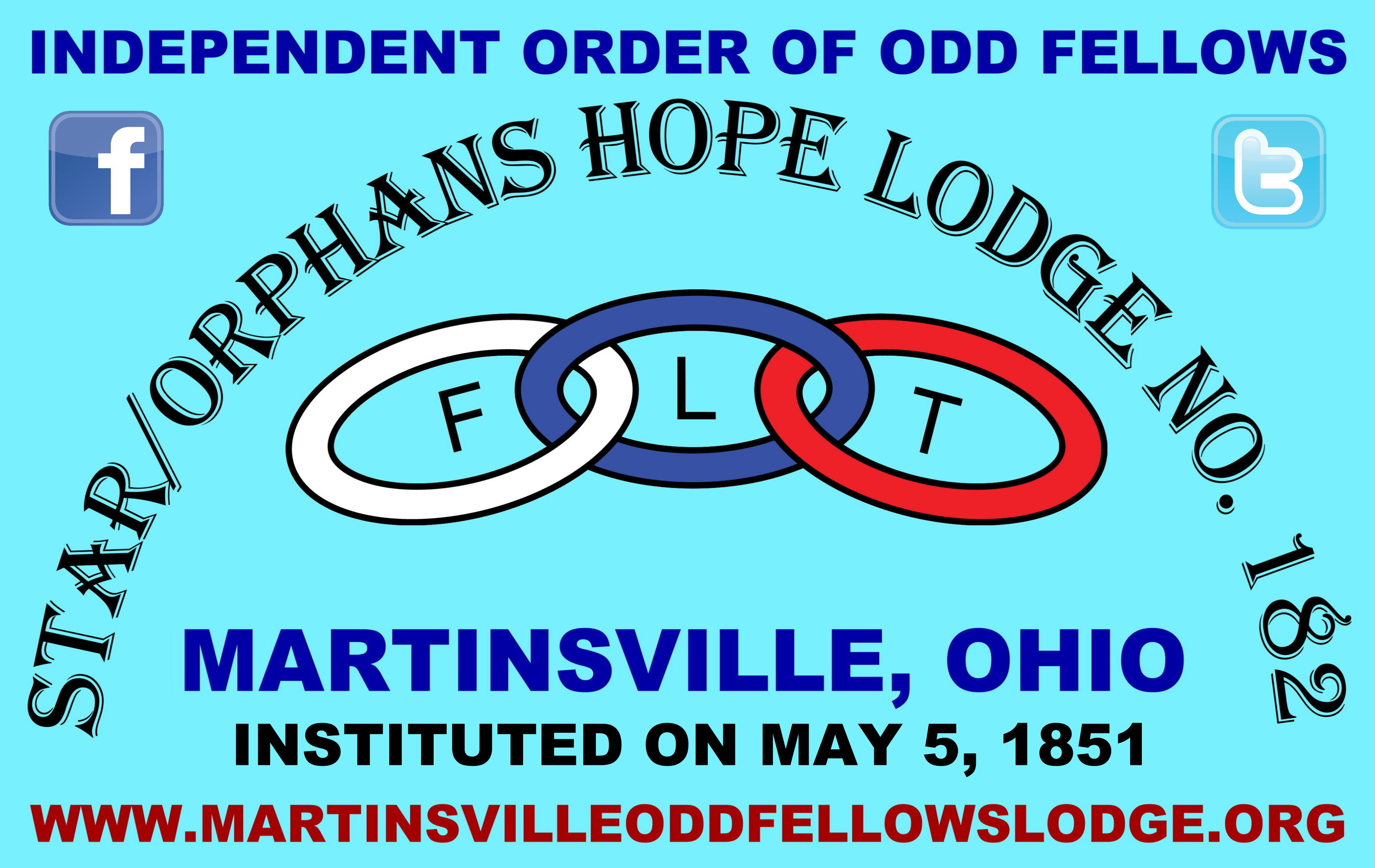 Star/Orphans Hope Lodge No. 182's Banner